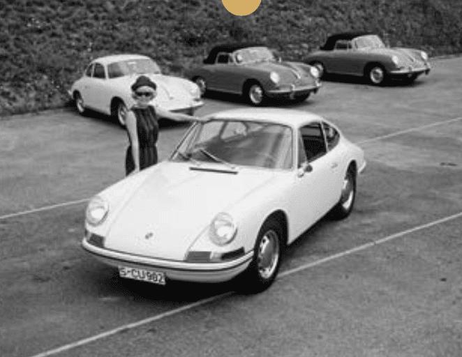 1964 : Naissance d'un mythe : celle qui devait s'appeler 901 deviendra la... 911.