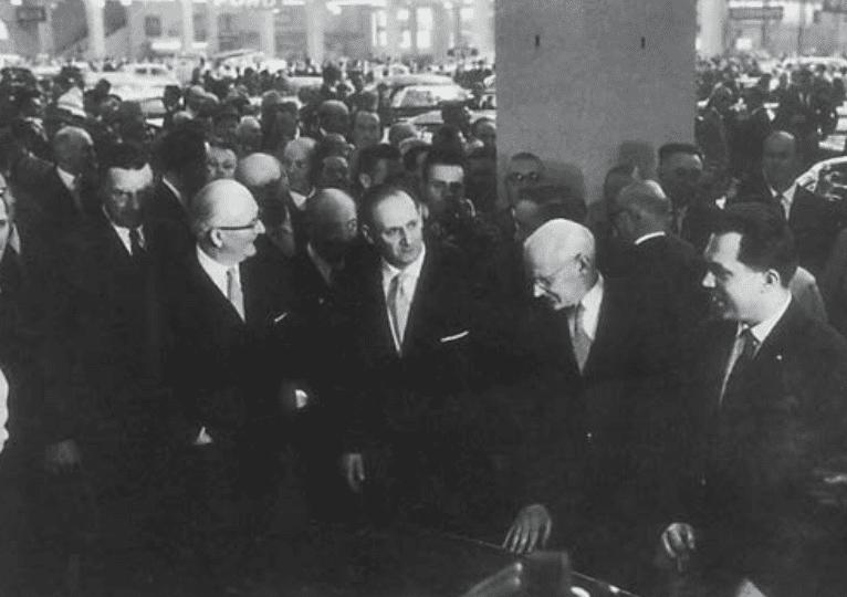 Emil Frey au Salon de Genève en 1961